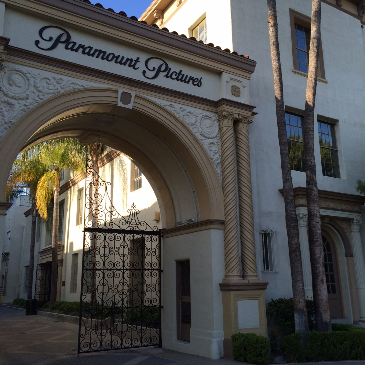 One of the original gates when streets still ran through the studio lot