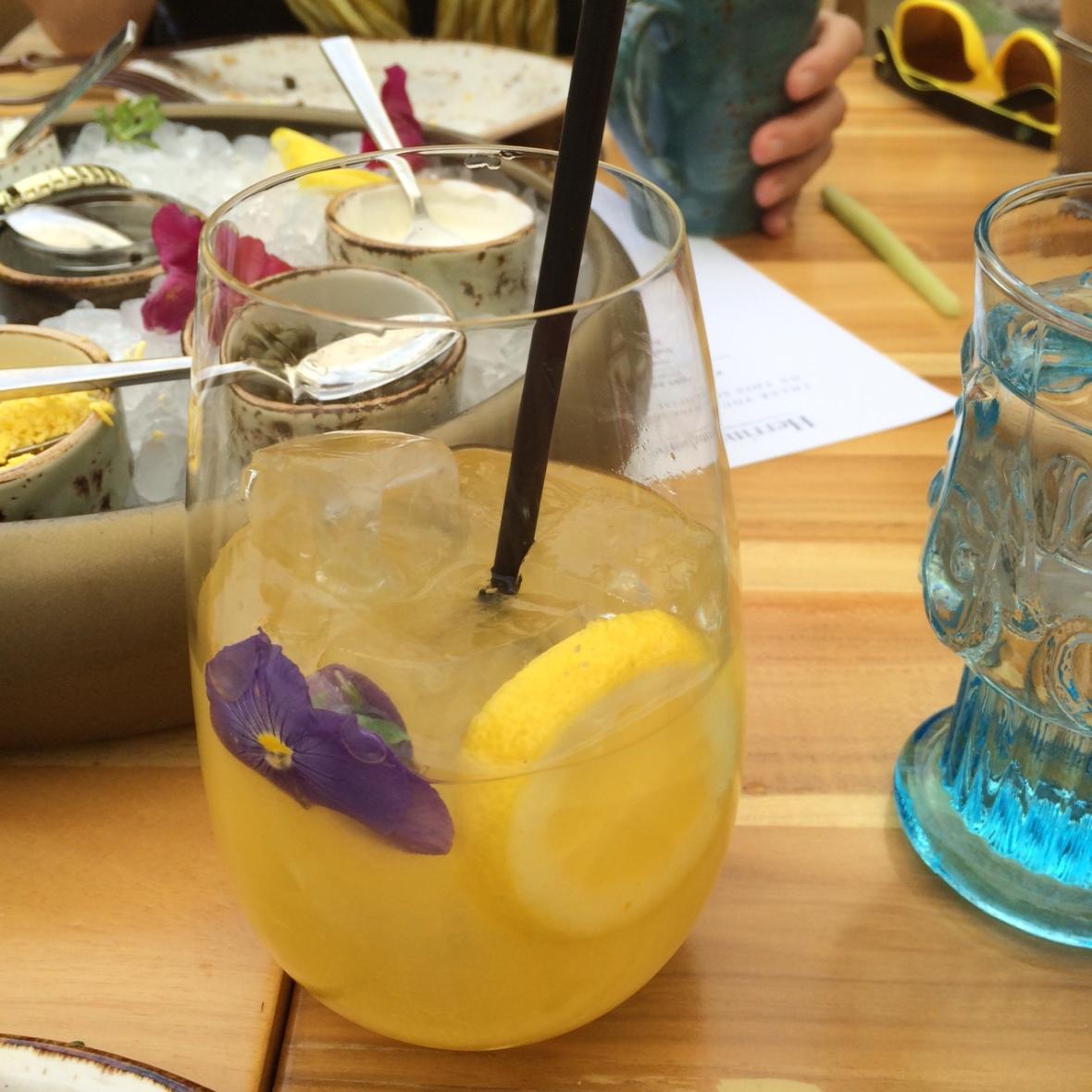 Cocktails and caviar