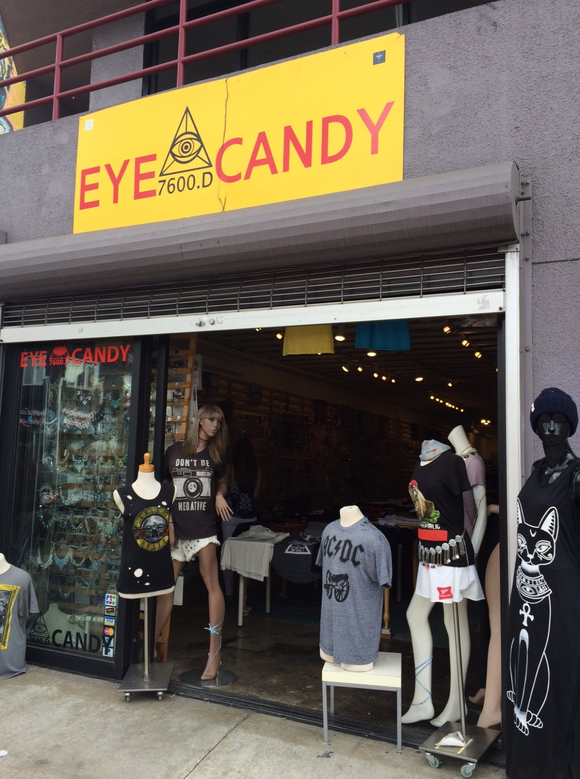 Great t-shirts at Eye Candy