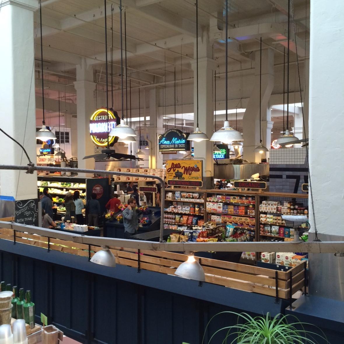 Grand Central Market stands