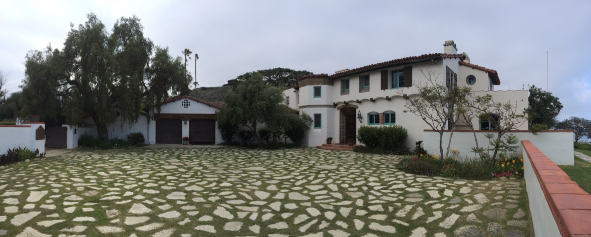 The Adamson House spans six acres right on PCH.