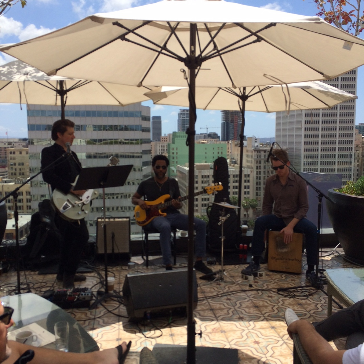 Live music and great views at Perch
