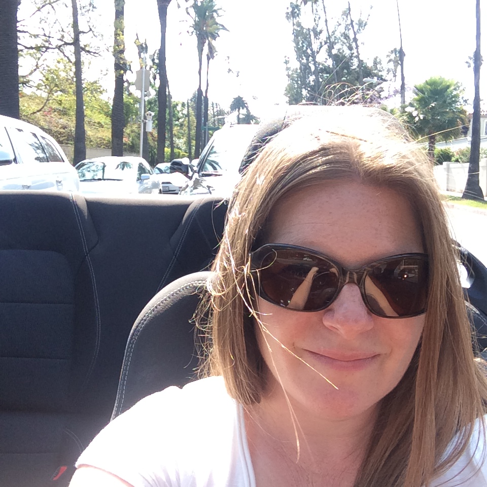 Enjoying the sun and sites in Beverly Hills