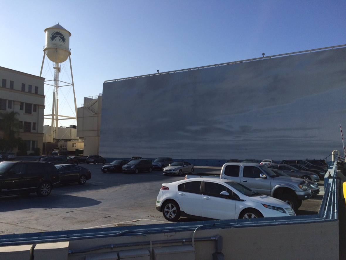 Blue Sky Tank. This is a parking lot they fill up with water to do boat scenes!