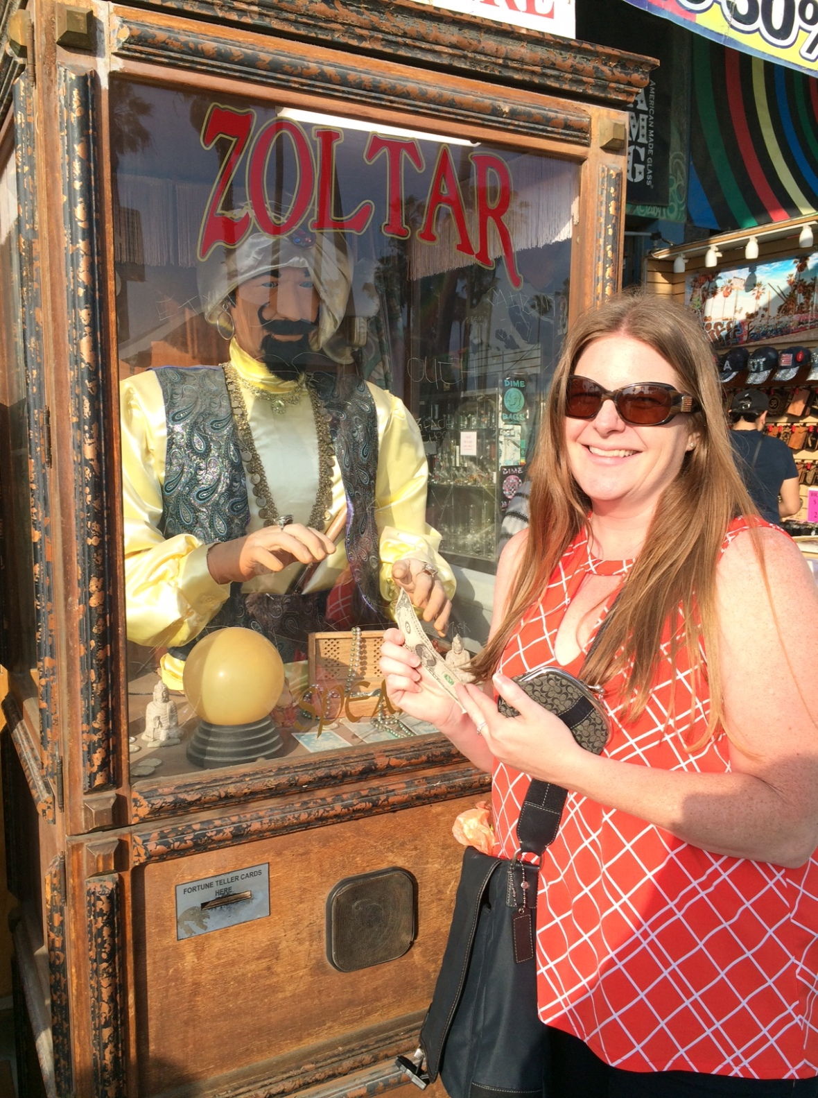 Zoltar gave me a great fortune!